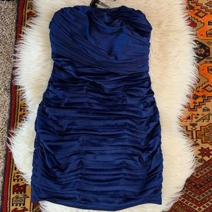 NWT Express Dark Blue Mini Dress